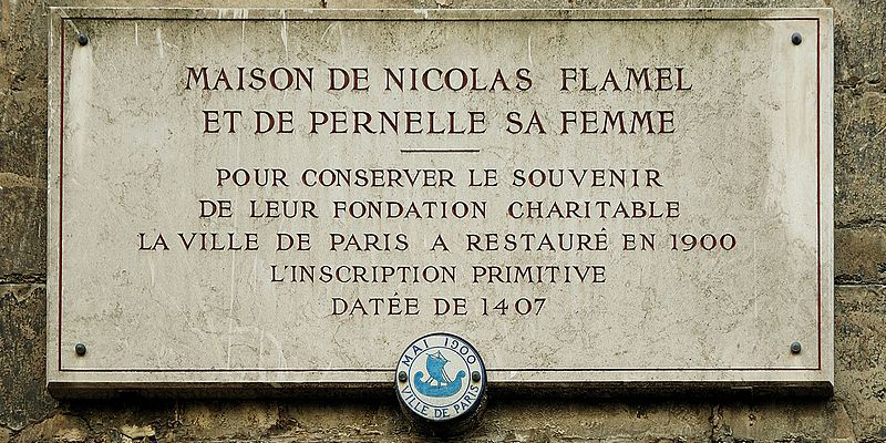La Maison de Nicolas de Flamel, la plus ancienne maison de Paris